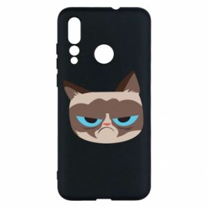 Etui na Huawei Nova 4 Very dissatisfied cat