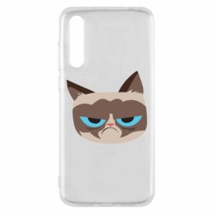 Etui na Huawei P20 Pro Very dissatisfied cat