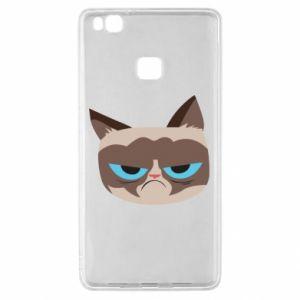 Etui na Huawei P9 Lite Very dissatisfied cat