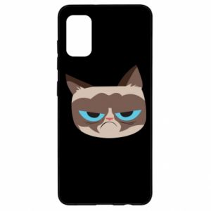 Etui na Samsung A41 Very dissatisfied cat