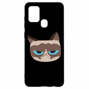 Etui na Samsung A21s Very dissatisfied cat