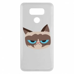 Etui na LG G6 Very dissatisfied cat