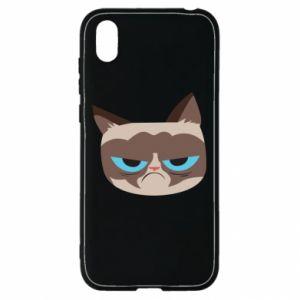 Etui na Huawei Y5 2019 Very dissatisfied cat