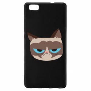 Etui na Huawei P 8 Lite Very dissatisfied cat