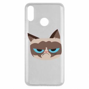 Etui na Huawei Y9 2019 Very dissatisfied cat