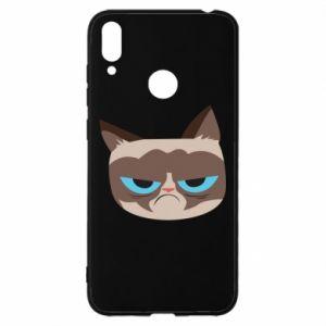 Etui na Huawei Y7 2019 Very dissatisfied cat