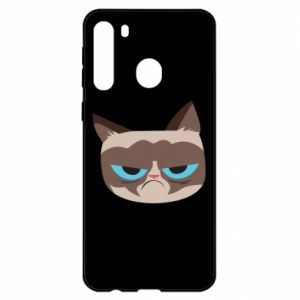 Etui na Samsung A21 Very dissatisfied cat