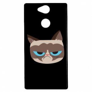 Etui na Sony Xperia XA2 Very dissatisfied cat