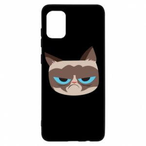 Etui na Samsung A31 Very dissatisfied cat