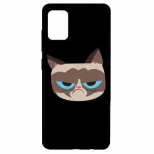Etui na Samsung A51 Very dissatisfied cat
