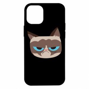 Etui na iPhone 12 Mini Very dissatisfied cat