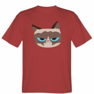 T-shirt Very dissatisfied cat