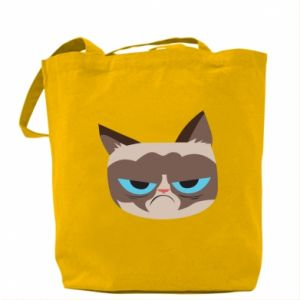 Bag Very dissatisfied cat - PrintSalon