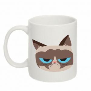 Mug 330ml Very dissatisfied cat