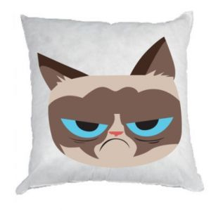 Pillow Very dissatisfied cat