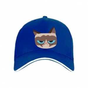 Cap Very dissatisfied cat - PrintSalon