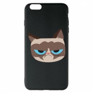 Phone case for iPhone 6 Plus/6S Plus Very dissatisfied cat