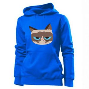 Women's hoodies Very dissatisfied cat - PrintSalon