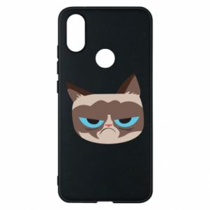 Phone case for Xiaomi Mi A2 Very dissatisfied cat