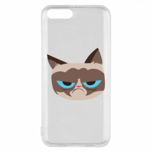 Phone case for Xiaomi Mi6 Very dissatisfied cat