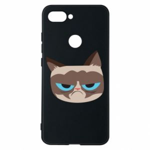Phone case for Xiaomi Mi8 Lite Very dissatisfied cat