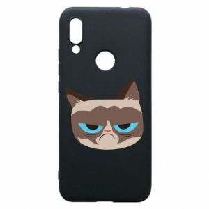 Phone case for Xiaomi Redmi 7 Very dissatisfied cat