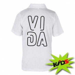 Dziecięca koszulka polo Vida