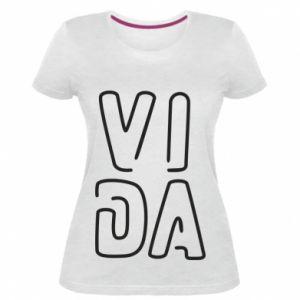 Damska premium koszulka Vida