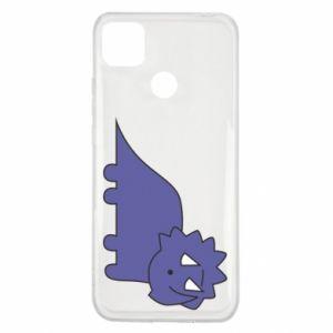 Etui na Xiaomi Redmi 9c Violet dino