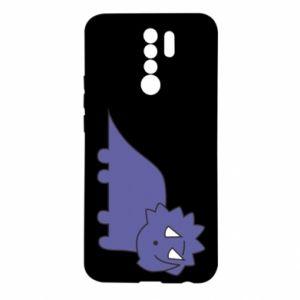 Etui na Xiaomi Redmi 9 Violet dino