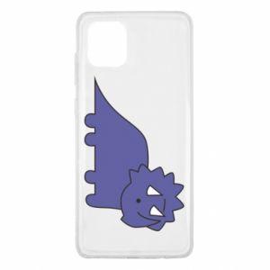 Etui na Samsung Note 10 Lite Violet dino