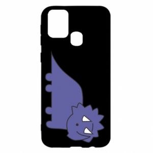 Etui na Samsung M31 Violet dino