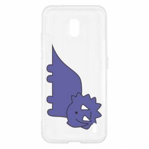 Etui na Nokia 2.2 Violet dino