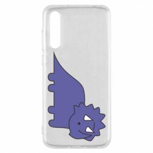 Etui na Huawei P20 Pro Violet dino