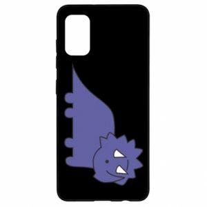 Etui na Samsung A41 Violet dino