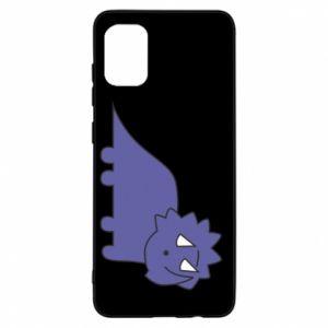 Etui na Samsung A31 Violet dino