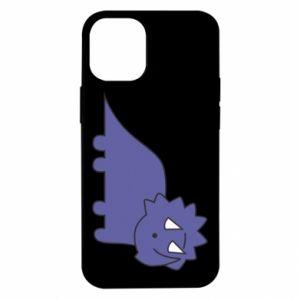 Etui na iPhone 12 Mini Violet dino