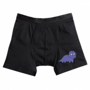 Boxer trunks Violet dino