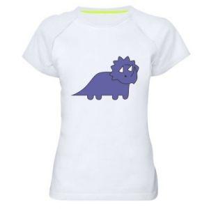Koszulka sportowa damska Violet dino