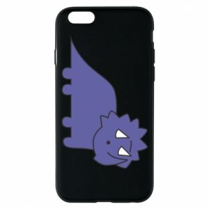 Etui na iPhone 6/6S Violet dino