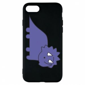 Etui na iPhone 7 Violet dino
