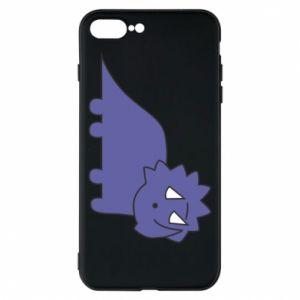 Etui na iPhone 8 Plus Violet dino