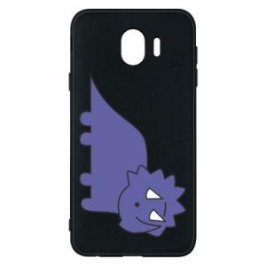 Etui na Samsung J4 Violet dino