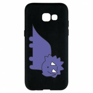 Etui na Samsung A5 2017 Violet dino