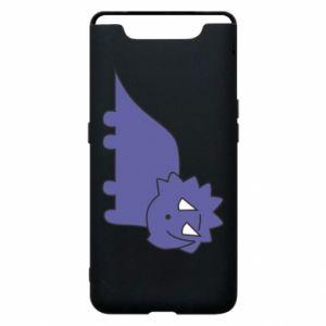 Etui na Samsung A80 Violet dino