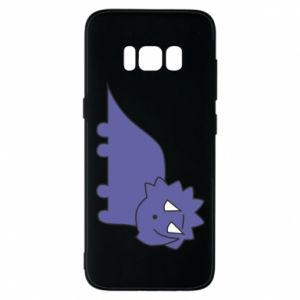 Etui na Samsung S8 Violet dino