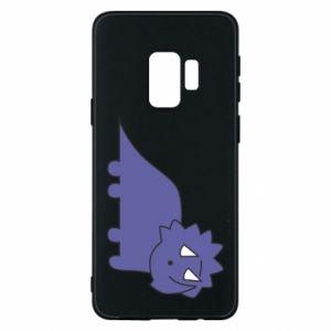 Etui na Samsung S9 Violet dino