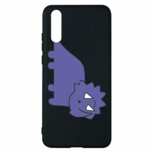 Etui na Huawei P20 Violet dino