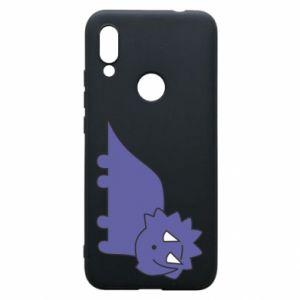Etui na Xiaomi Redmi 7 Violet dino