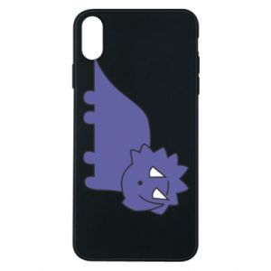 Etui na iPhone Xs Max Violet dino